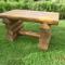 Tisch Naturstamm
